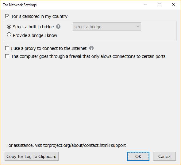 tor browser bridges
