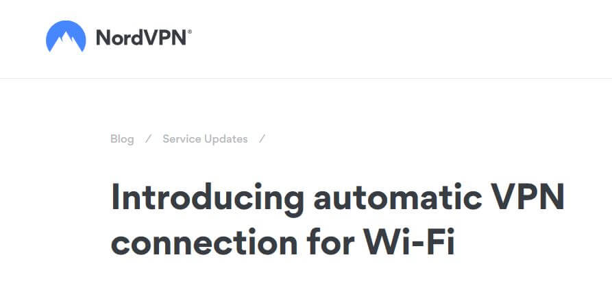A BordVPN page about wifi protection.
