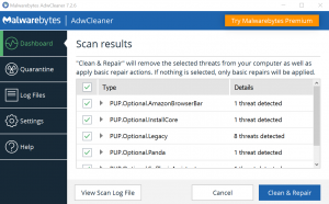 spyware removal tools adwcleaner