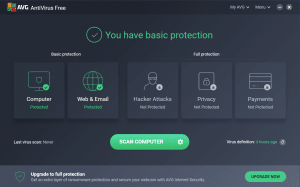 avg free spyware removal tools