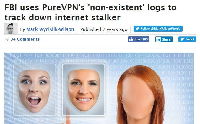 An article about PureVPN.