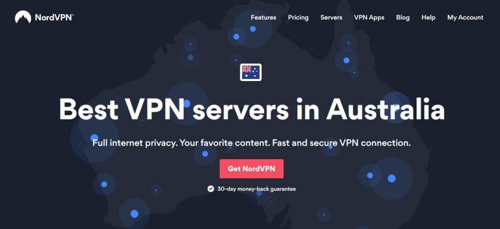 NordVPN Australia.