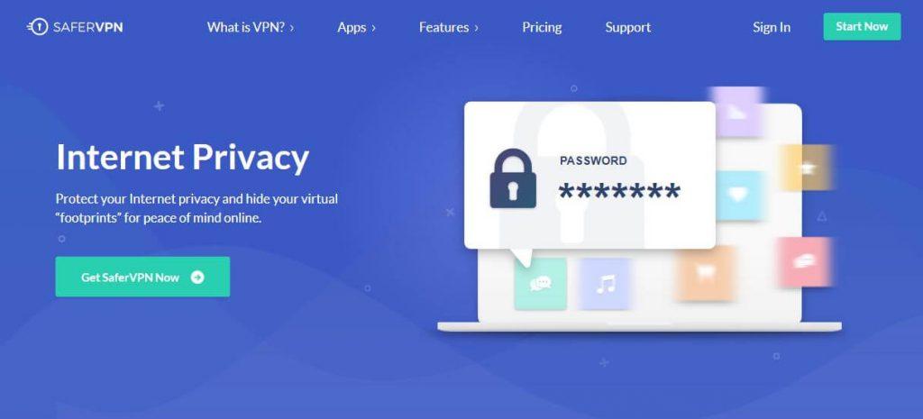 SaferVPN private VPN.