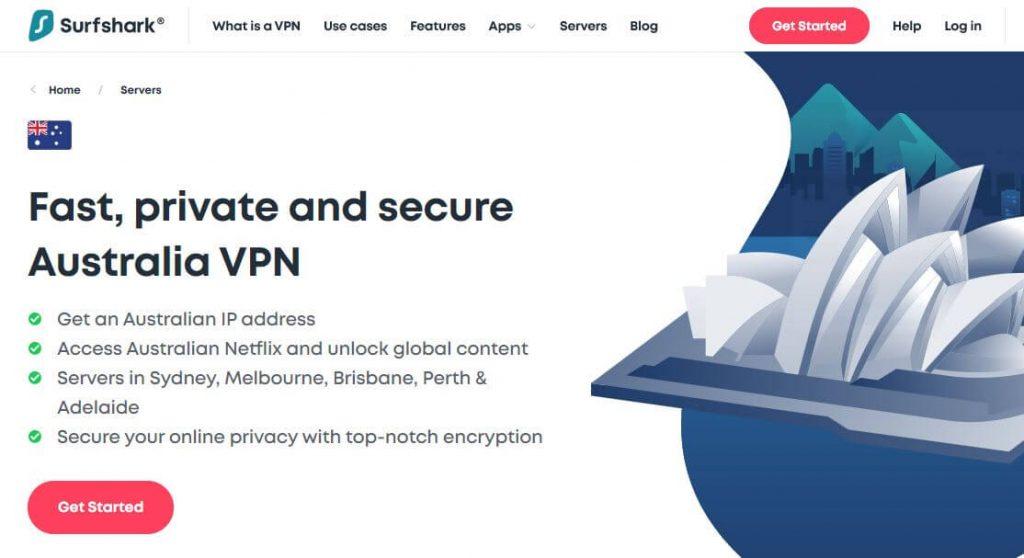 Surfshark Australia VPN.