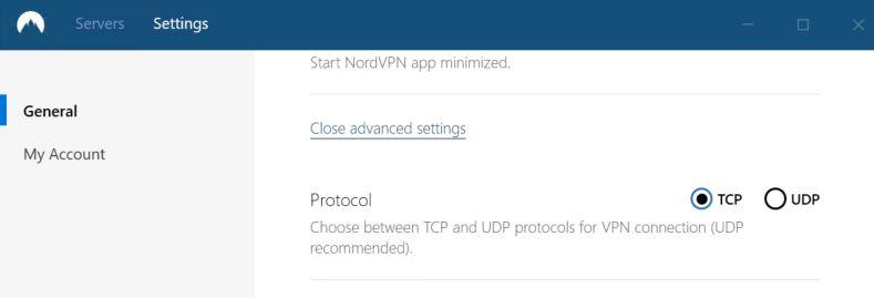 NordVPN Protocol