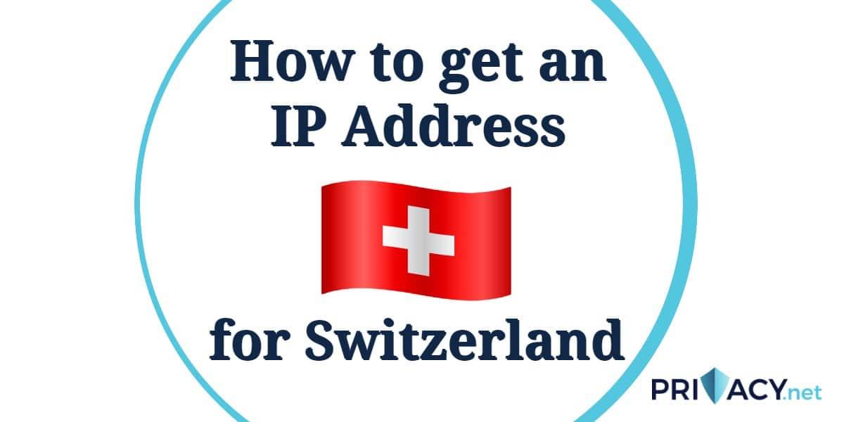 IP Address Switzerland